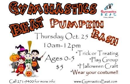 Fresno Halloween Gymnastics Beat Pumpkin Bash 2012